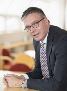 Mikael Forsberg, rörelsechef Sparbanken Skåne